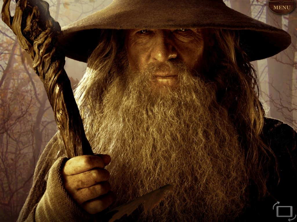 """Grandfather"" and Gandalf"