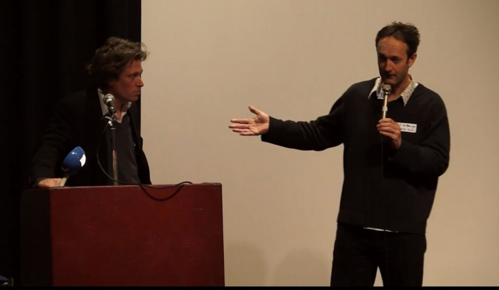 Daniel Simpson + Guy de Beaujeu at the Film Suffolk / Recreate Conference